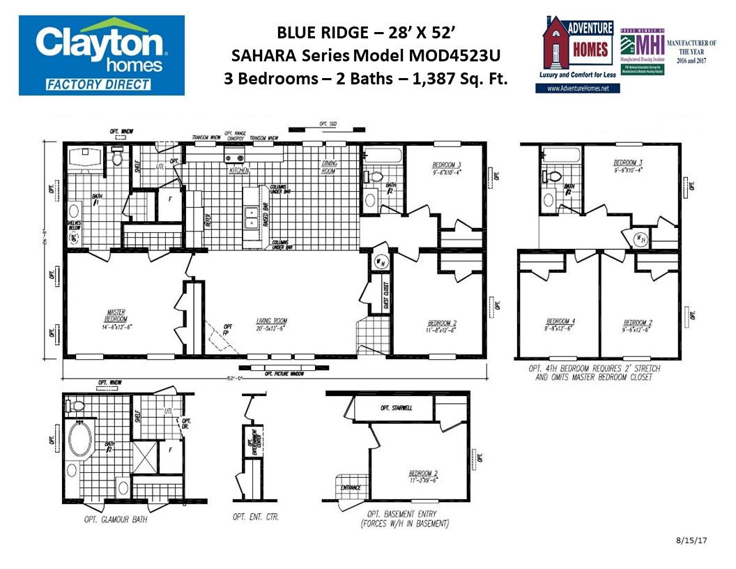 Modular Home 4523u Clayton Homes Factory Direct