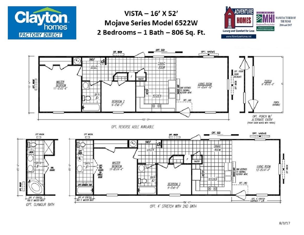 Model Village Vista 2018 Clayton Homes Factory Direct