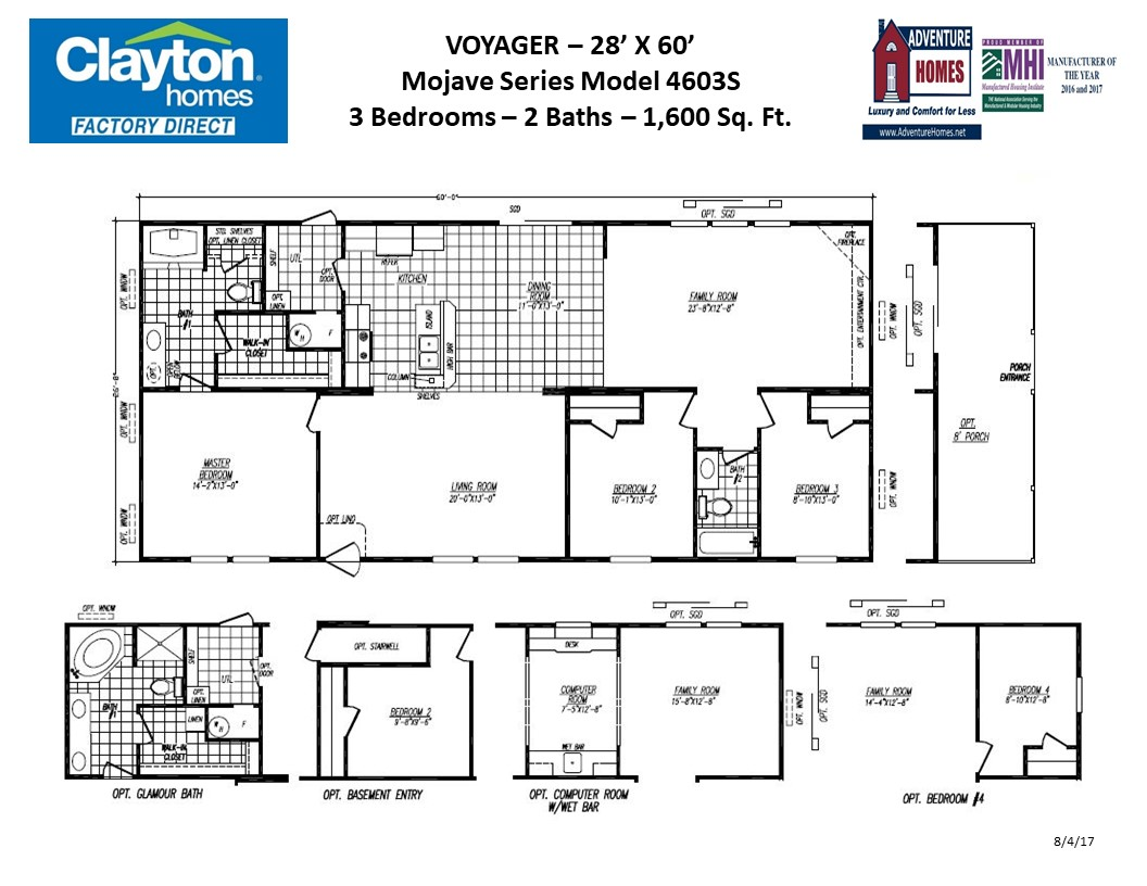 Voyager | Clayton Homes Factory Direct on bathroom home designs, top home designs, fire resistant home designs, floor interior design, black home designs, wood home designs, cement home designs, storage home designs, general home designs, rustic southwest home designs, paint home designs, city home designs, window home designs, clean home designs, floor plans, building home designs, front home designs, masonry home designs, flooring home designs, shower home designs,