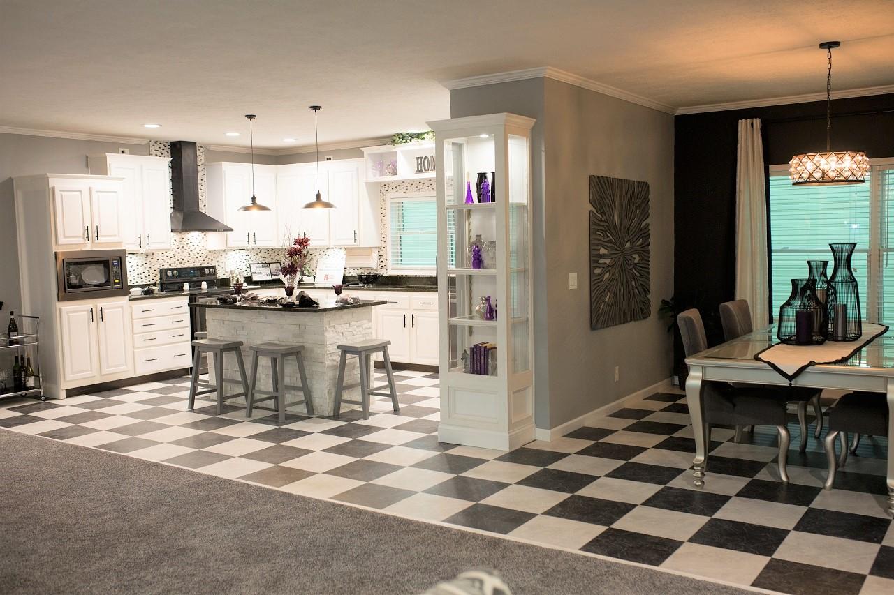 Optional Flooring Not Tile In Kitchen