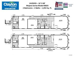 2 Bedrooms2 Bath1 054 Sqft