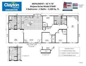 Multi Sectional, Multi Wide Mobile Home Floor Plans | Clayton ... on new mexico home floor plans, modular home floor plans, view clayton mobile home plans,