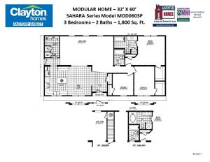 Modular Home Floor Plans and Blueprints | Clayton Factory Direct on