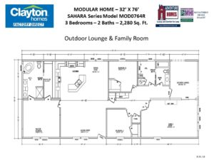 3 Bedroom Home Floor Plans | Modular Home Floor Plans And Blueprints Clayton Factory Direct