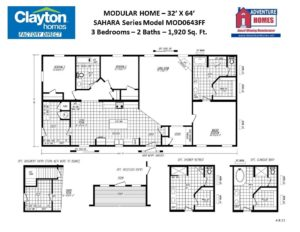 Modular Home Floor Plans And Blueprints Clayton Factory Direct